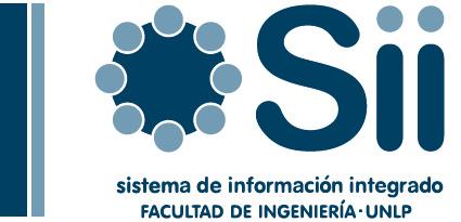 Sistema de Información Integrado - Facultad de Ingeniería - UNLP - La Plata